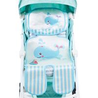 儿童宝宝冰丝垫座椅可水洗婴儿推车凉席伞车通用夏季透气
