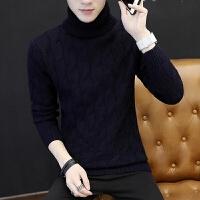 韩版学生男士羊毛衫针织衫原宿风潮流毛线衣秋冬季高领毛衣男