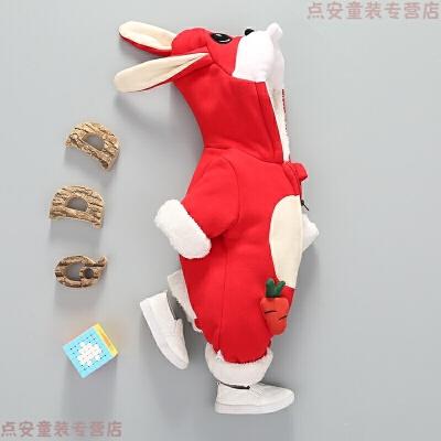 冬季宝宝冬装套装女0一1岁男婴儿衣服潮款外出连体衣加厚抱衣 发货周期:一般在付款后2-90天左右发货,具体发货时间请以与客服协商的时间为准