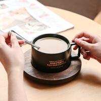 咖啡杯碟勺 欧式茶具茶水杯子套装 陶瓷情侣杯马克杯定制