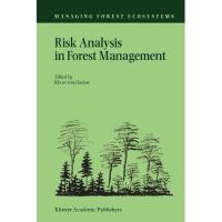 【预订】Risk Analysis in Forest Management Y9789048156832
