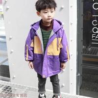 冬季男童加厚外套2018新款韩版儿童夹棉洋气上衣中小男孩潮款冬季衣服秋冬新款