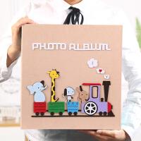 相册本影集5寸6寸插页式记录簿照片家庭宝宝成长纪念册大容量