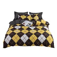 南极人(NanJiren)亲肤磨毛印花床上用品套件 被套 枕套 床单
