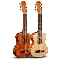 28寸吉他里里旅行单板小吉他丽丽六弦儿童jita尼龙弦初学电箱吉它