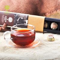 柏联普洱茶-黄瓦楞-5g*7粒-迷你沱茶-普洱熟茶