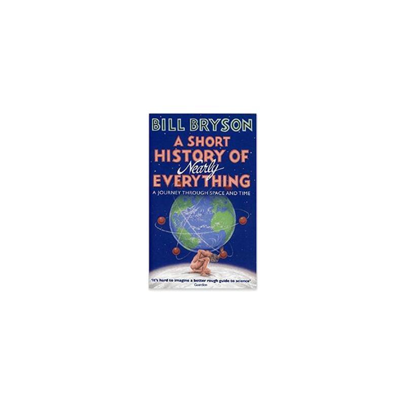 【现货】英文原版 万物简史 A Short History of Nearly Everything International Edition 国际版 Bill. Bryson 比尔布莱森 国营进口!品质保证!