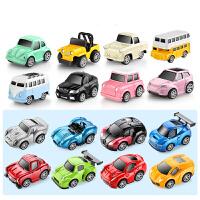 儿童玩具小汽车合金回力模型套装男孩惯性宝宝消防工程迷你