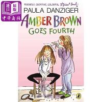 【中商原版】琥珀四年级了 英文原版Amber Brown Goes Fourth儿童章节书 文学小说 6-12岁