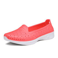 Skechers斯凯奇女鞋新款透气网眼健步鞋 减震健步鞋洞洞鞋 14690
