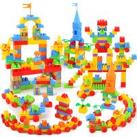 儿童搭积木塑料玩具智力男孩子宝宝拼装拼插3-6-7-8-10岁小孩智力