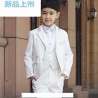 儿童礼服男男童燕尾服套装春秋花童礼服男男童西装西服钢琴演出服