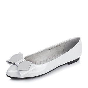 【鞋靴超级品类日】BASTO/百思图专柜同款漆皮牛皮浅口女单鞋TXP22CQ6