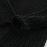 冬季女童秋装毛衣 韩版秋冬新款儿童纯色朵朵绒高领毛衣秋冬新款