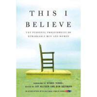 【预订】This I Believe: The Personal Philosophies of
