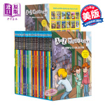 【中商原版】A to Z Mysteries 神秘案件全套26册盒装 神秘事件 英文原版儿童桥梁初级章节书 儿童经典侦
