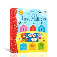 第一道数学题 Lift-the-Flap First Maths 亲子伴读睡前故事书 英文原版翻翻书 3-5岁低幼启蒙宝