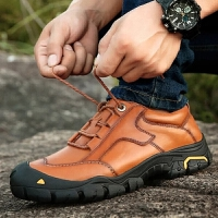 户外鞋男鞋登山鞋防水防滑徒步鞋透气旅游鞋男春季运动越野鞋