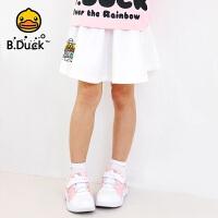 【4折价:91.6】B.duck小黄鸭童装女童半身裙夏装新款甜美公主裙BF2061906