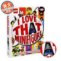 现货 乐高特别人物公仔百科 英文原版 Lego: I Love That Minifigure 附特别收藏人仔 乐高积