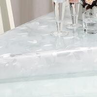 PVC餐桌布防水防油免洗软质玻璃磨砂桌垫耐高温防老化茶几垫台布