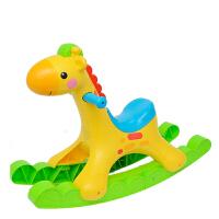 费雪 声光摇摇长颈鹿摇摇马1-3岁 周岁礼物婴儿宝宝玩具儿童节礼物 Y9155