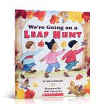 顺丰发货 We're Going on a Leaf Hunt 我们一起捡树叶 Steve Metzger 儿童英文原