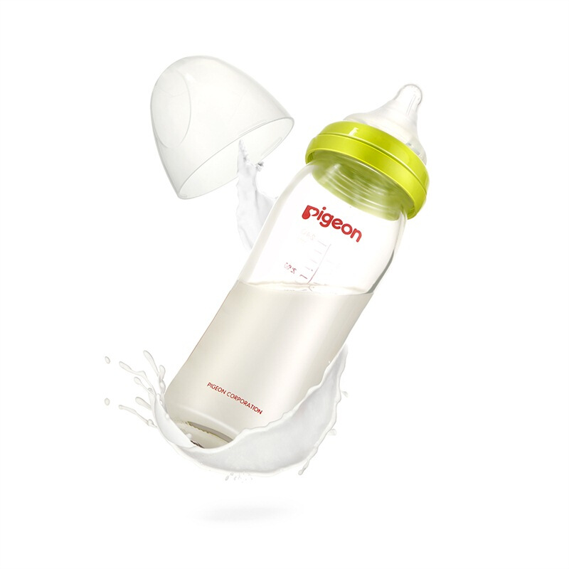 贝亲奶瓶宽口径玻璃奶瓶240ml新生儿宝宝婴儿防胀气奶瓶 AA70/71收藏店铺送3元无门槛卷,晒图送10元优惠卷