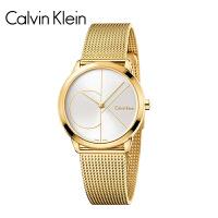 卡文克莱(CalvinKlein)CK手表 MINIMAL系列石英男女腕表 情侣表 K3M21621/男纪念款