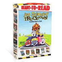 【全店300减100】英文原版Trucktown Collector's Set 汽车镇6本盒装 3-6岁启蒙绘本故事书
