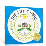 英文进口原版 The Little House 小房子 凯迪克获奖绘本汪培�E推荐5阶段 儿童启蒙故事绘本3-6岁