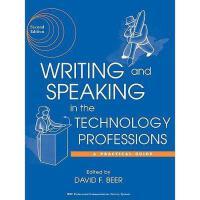 【预订】Writing And Speaking In The Technology Professions: