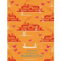 The Adventures of Huckleberry Finn 英文原版 哈克贝利・费恩历险记 马克・吐温 精装
