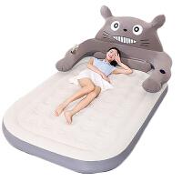 充气床 床垫榻榻米床垫单双人睡垫加厚卡通可爱折叠懒人床沙发床 2.0m(6.6英尺)床