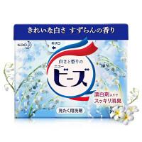 花王(kao)铃兰香洗衣粉 800g/盒 低泡易漂 护色增白 铃兰花香