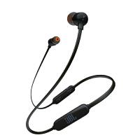 JBL T110BT 黑色 无线蓝牙 入耳式耳机 运动耳机 手机耳机 游戏耳机