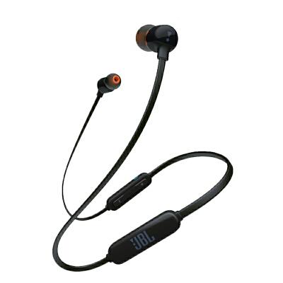 JBL T110BT 黑色 无线蓝牙 入耳式耳机 运动耳机 手机耳机 游戏耳机 用礼品卡购买JBL耳机,享当当,悦动生活!