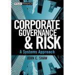 【预订】Corporate Governance & Risk: A Systems Approach