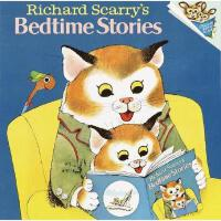 【现货】英文原版儿童书 Richard Scarry's Bedtime Stories 理查德斯凯瑞-睡前故事 亲子阅