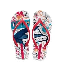 新款夏季人字拖鞋女 时尚外穿防滑平跟度假凉拖鞋夹趾女沙滩拖鞋