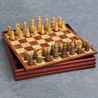 象棋黄杨木象棋木制棋子套装