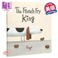 【中商原版】Roge Girard The French Fry King 法式热狗 精品绘本 低幼故事绘本睡前读物 精