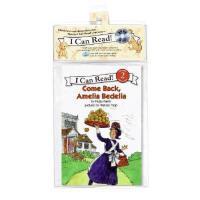 英文原版儿童书 Come Back, Amelia Bedelia [With CD (Audio)] 回来,阿米利亚波
