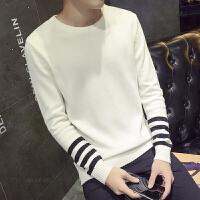 新款帅中性小码青少年秋季简约潮流男士针织衫韩版修身S码毛衣