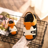 夏季宝宝凉鞋学步鞋叫叫鞋男女童婴儿鞋叫叫单鞋会响