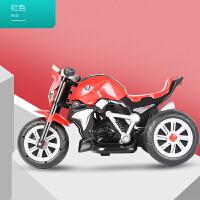 创意新款可坐人童车儿童车电动摩托车三轮车宝宝车子1-3-5岁小孩玩具可坐人童车充电