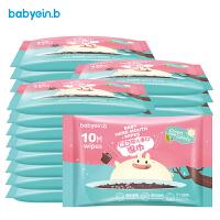 非棉柔巾便携装 婴儿湿巾宝宝手口湿纸巾