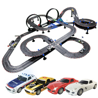 儿童玩具电动遥控轨道车 2018新款AGM音速风暴三代路轨道赛车智能