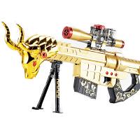 宜佳达 电动连发水弹枪 儿童可发射水晶弹枪 战雷金牛狙击枪YJD323