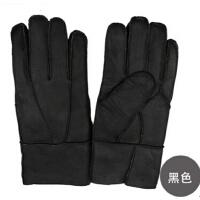时尚冬季男女士真皮手套精品皮毛手套 保暖羊皮手套